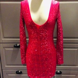Free*Humanity Sequin Mini Cocktail Dress